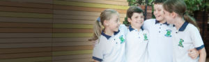St-Aidan's-Maroubra students in their sports polo